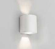 Arandela Oval – 127V LED 2700K – 100 x 100 x 120mm