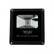 REFLETOR RGB 10W IP66 120° BIVOLT