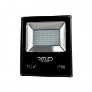 REFLETOR SMD LED 100W IP66 120° 3000K BIVOLT