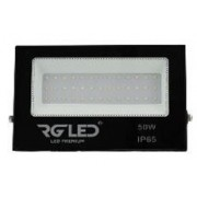 REFLETOR SMD SLIM LED 50W IP65 120° 6500K BIVOLT