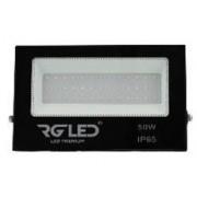 REFLETOR SMD SLIM LED 50W IP65 120° VERDE BIVOLT