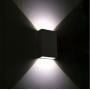 ARANDELA LED ABS 4W 3000k 123 x 83 x 30 mm