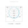 LUMINÁRIA EMBUTIR LED STELLA STH8902BR/30 DEEP QUADRADO RECUADO 12W 3000K BIVOLT 167X167X43MM