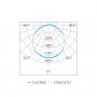 LUMINÁRIA EMBUTIR LED STELLA STH9954Q/65 QUADRADO 24W 6500K BIVOLT 270X270X28MM