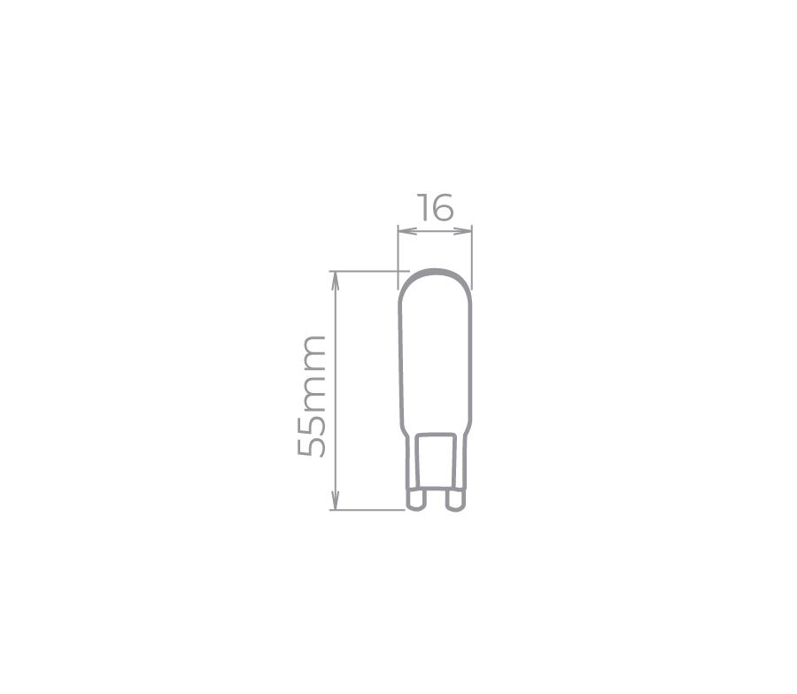 Bipino G9 4W 300° Stella