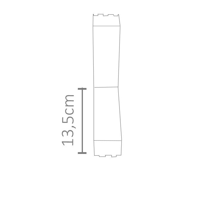 Conector em IL do perfil ILU-PS51