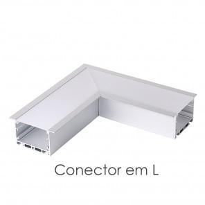 Conector em L do perfil ILU-GE44