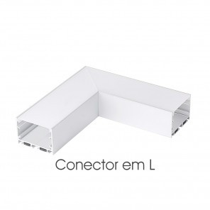 Conector em L do perfil ILU-PS52