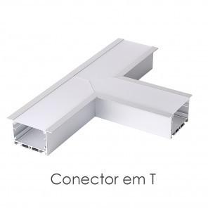 Conector em T do perfil ILU-GE43