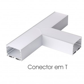 Conector em T do perfil ILU-PS53
