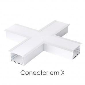 Conector em X do perfil ILU-GE43