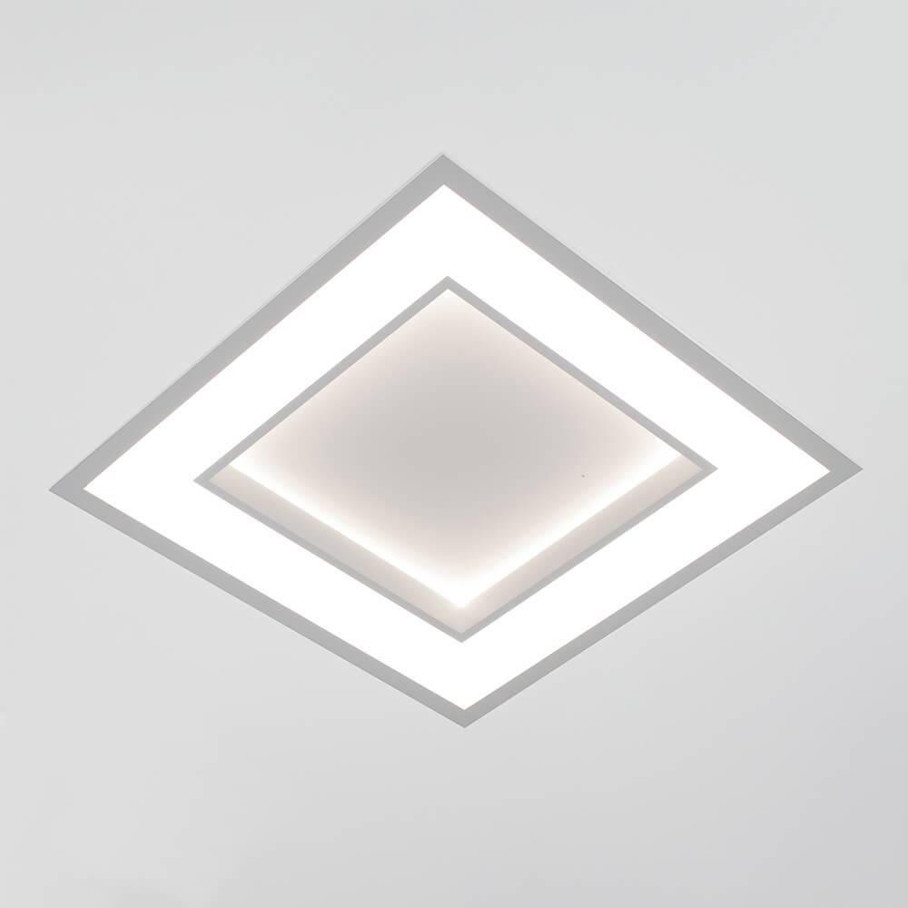 EMBUTIDO NC LED 25,2W – BIVOLT 127V / 220V  – 370 X 370 X 67MM
