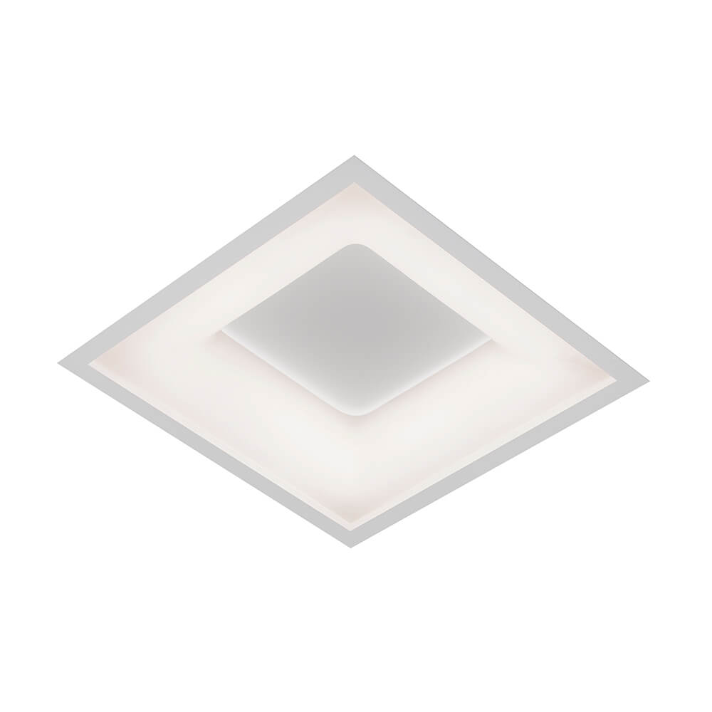 EMBUTIDO NM LED 25,2W 127/220V 370X370X67MM
