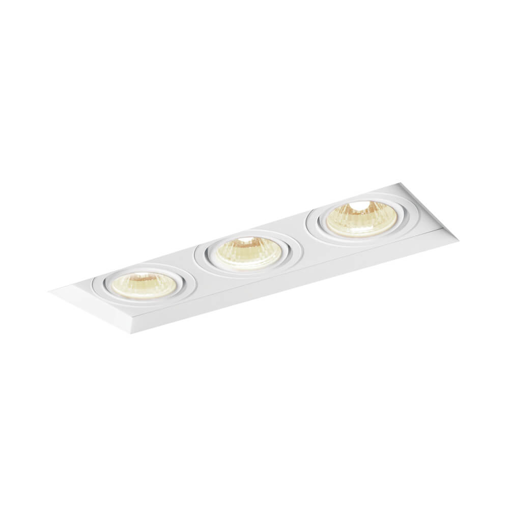 EMBUTIDO NF 3 AR111 LED 136X426X100MM