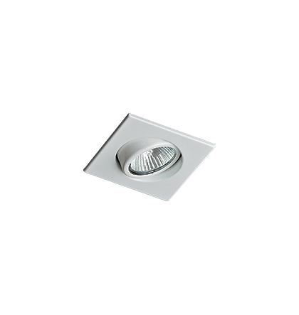 Embutido quadrado  para lâmpada Dicróica LED