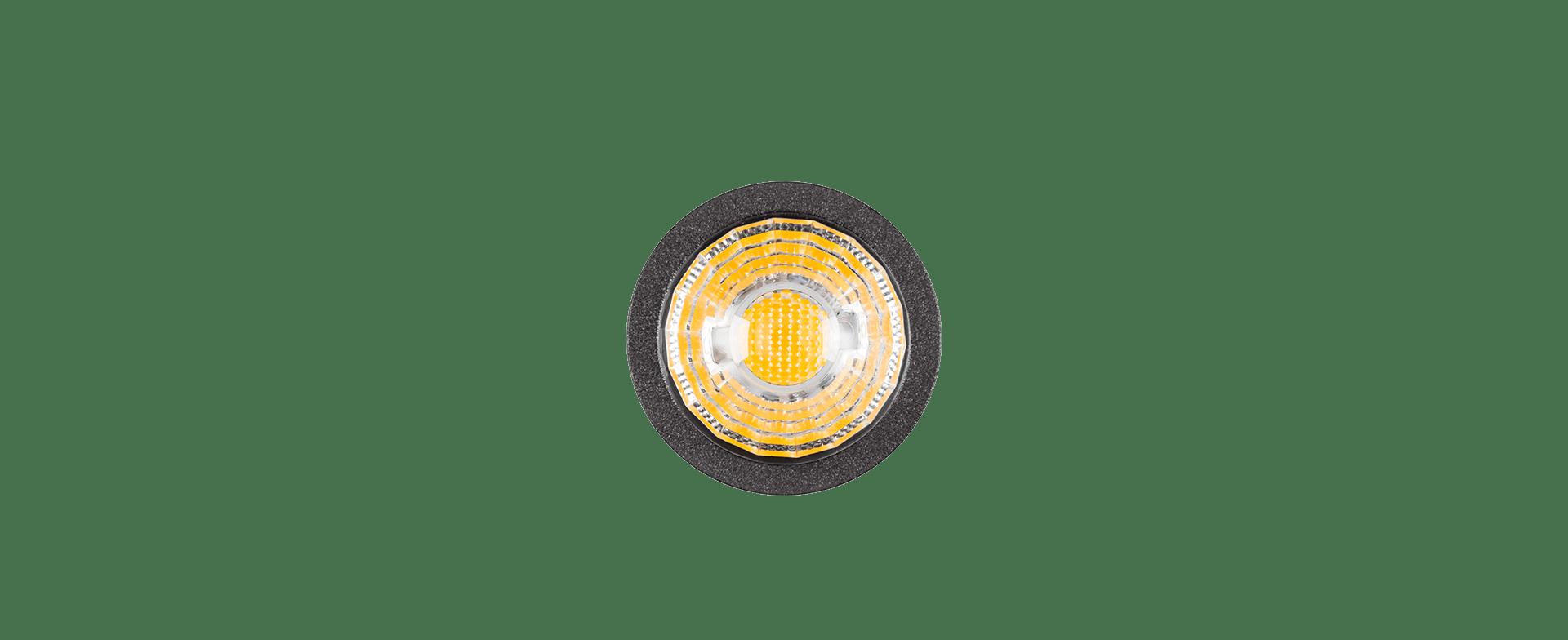 ESPETO LED STELLA STH7702/30 MINI FOCCO 3W 3000K IP67 BIVOLT 66X210MM - PRETO