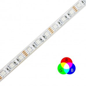Fita LED eklart RGB 10W chip 5050 60Leds/m - IP65