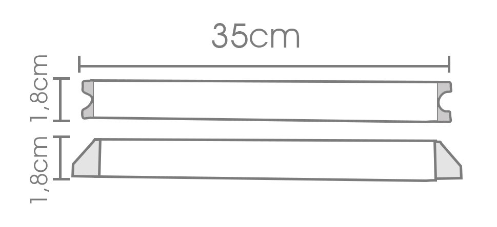 Fonte slim 12V 5A - IP20