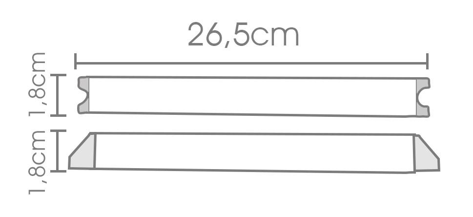 Fonte Slim 24V 1,5A - IP20