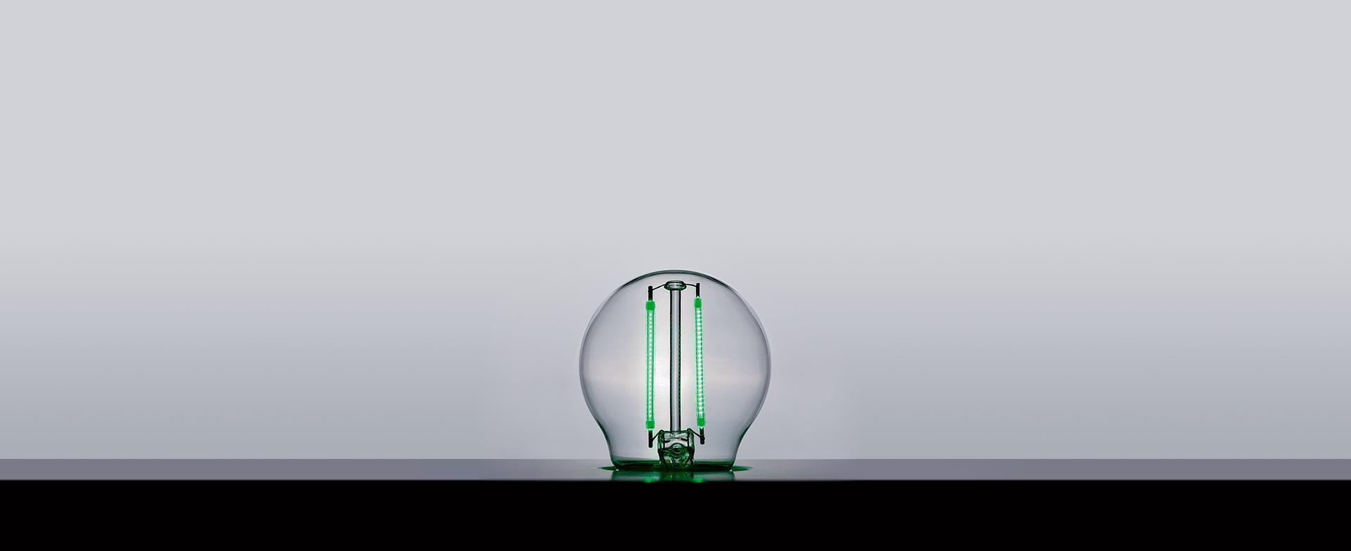 Mini Bulbo Filamento Color 2W 270° Stella