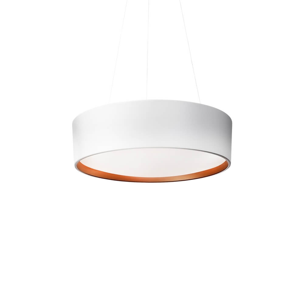 PENDENTE CIRCLE CFL E27 – BIVOLT 127V / 220V – 370 X 370 X 145MM