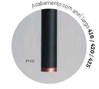 PENDENTE L II C/ ADAPTADOR 1 MINI DICROICA DIAM. 40X615MM