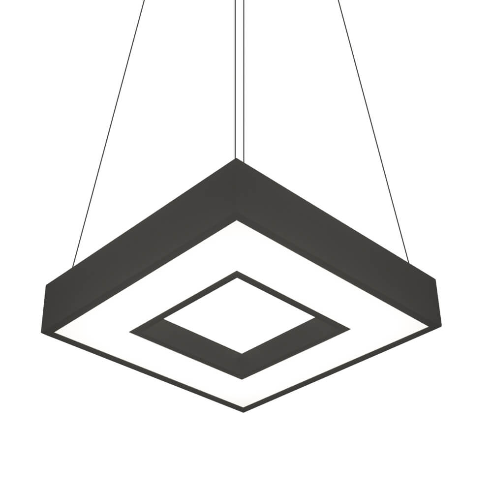 PENDENTE N C  LED 33,6W – BIVOLT 127V / 220V– 470 X 470 X 70MM