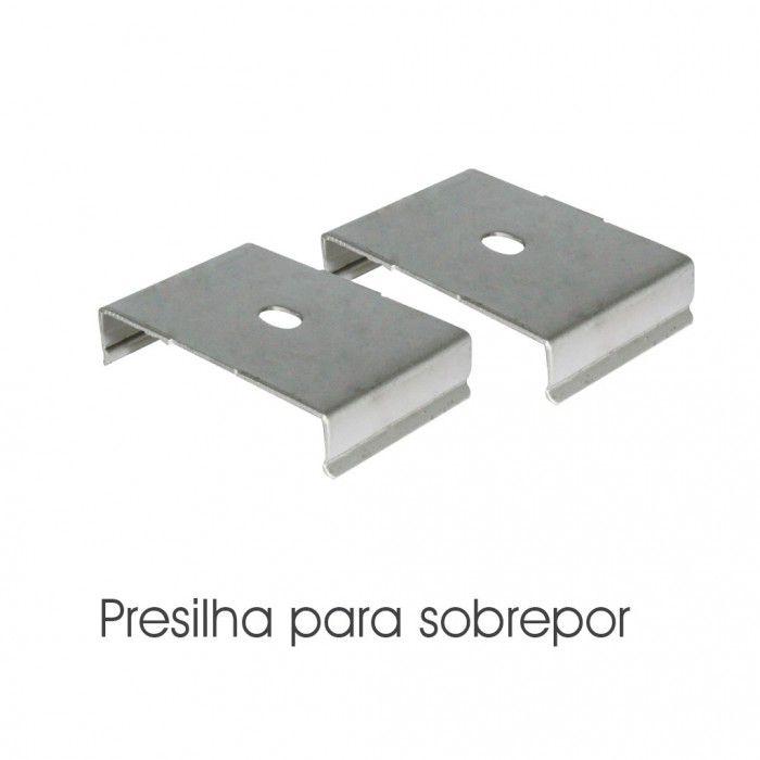 PERFIL SOBREPOR/ARANDELA ILU-DPA107  ( POR METRO)