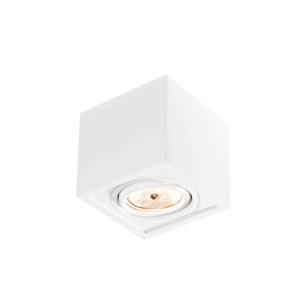 PLAFON B 1 AR70 LED 117X117X105MM