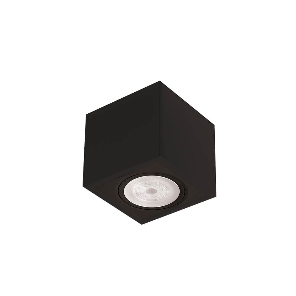 PLAFON B LED 7W 3000K 525LM 127/220V 125X125X70MM