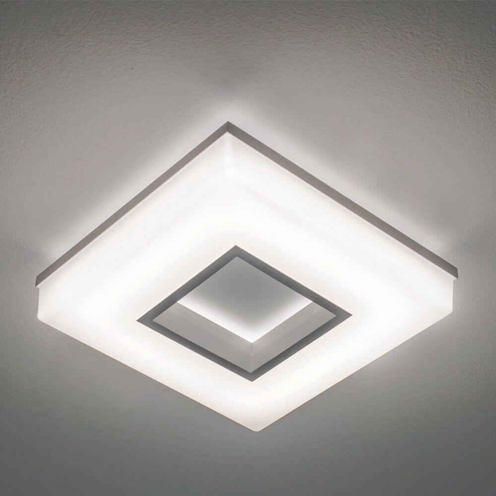 PLAFON P LED 16,8W 127/220V 265X265X70MM