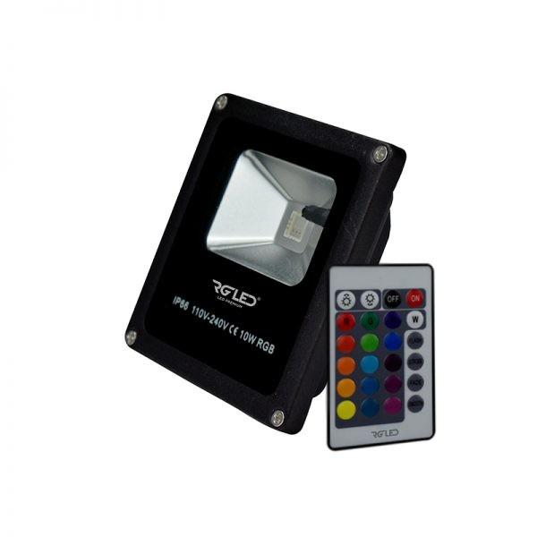 REFLETOR RGB 30W IP66 120° BIVOLT