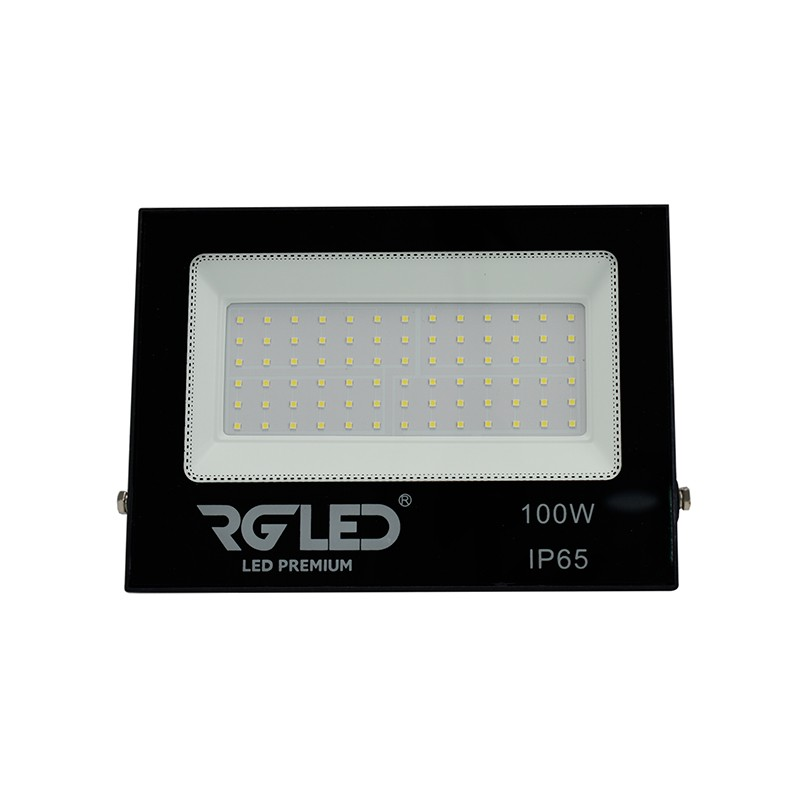 REFLETOR SMD SLIM LED 100W IP65 120° VERDE BIVOLT