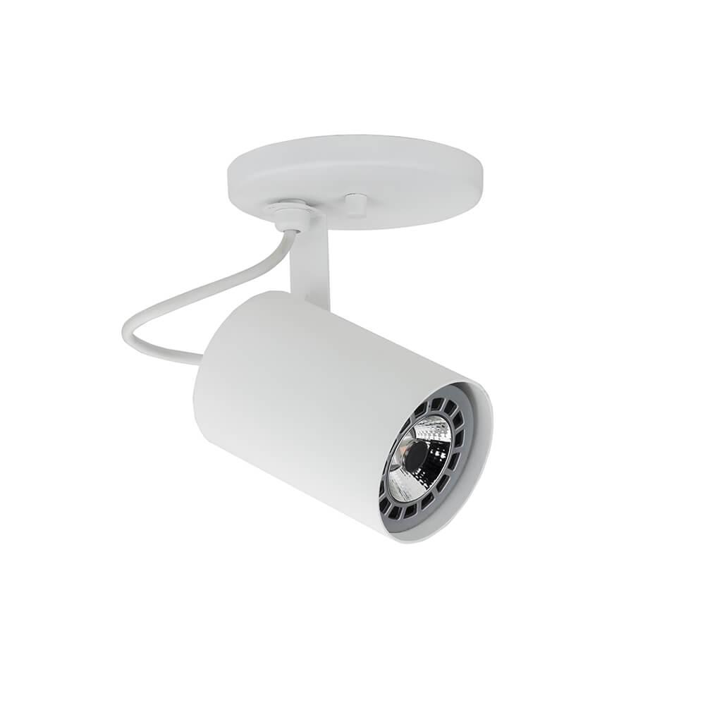 SPOT LISSE II COM CANOPLA 1 AR70 LED 140X120X140MM