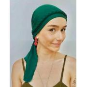 Turbante Eva + Trança - Verde