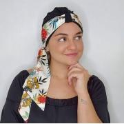 Turbante Maya + Faixa Lolita - Bicolor