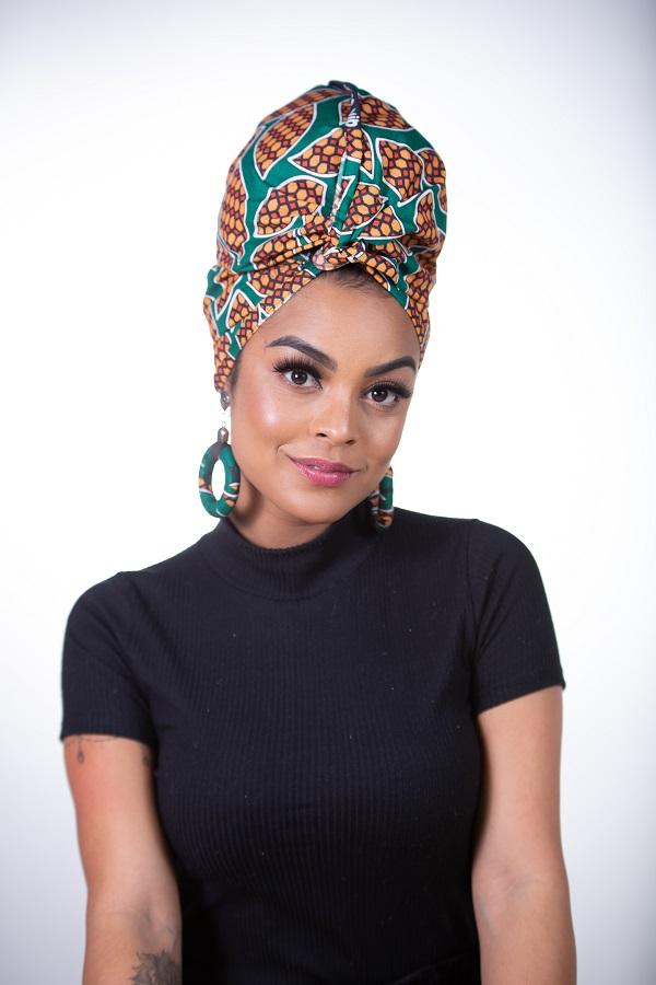Turbante Afro - Estampado