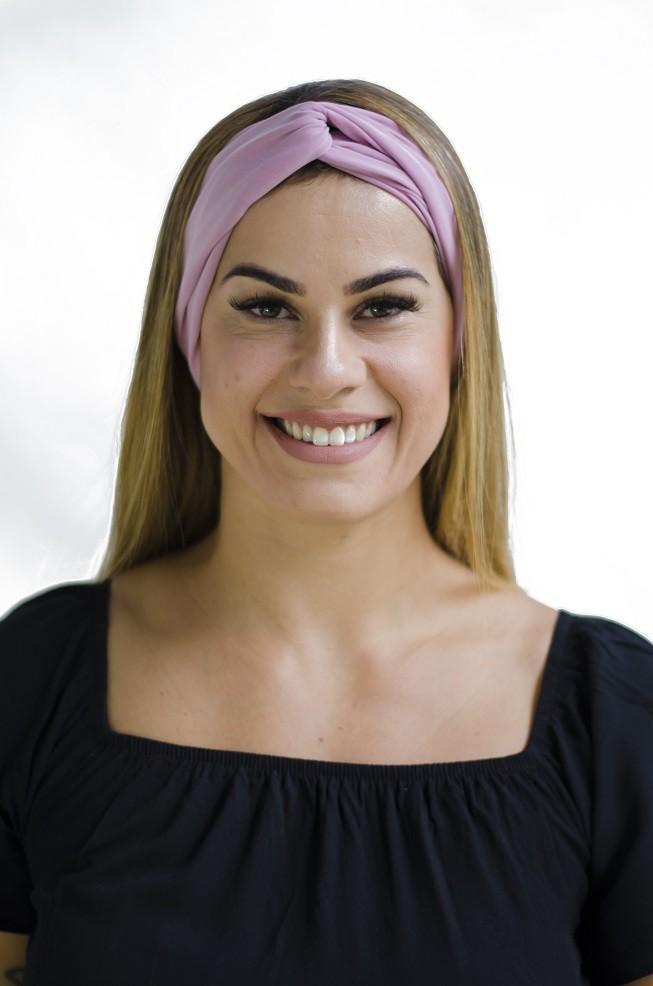 Turbante Dora - Rose