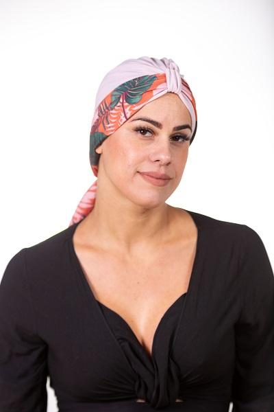 Turbante Teodora + Faixa Lolita - Bicolor