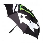 GUARDA-CHUVA MONSTER JORGE LORENZO - PRETO/VERDE