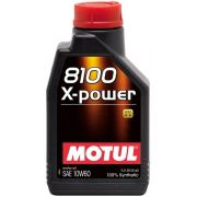 ÓLEO MOTUL 8100 X-POWER 10W60 100% SINTÉTICO 1L