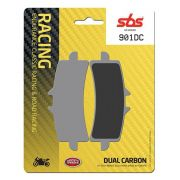 PASTILHAS DE FREIO SBS 901DC RACING CARBONO DUPLO