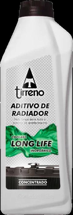 ADITIVO PARA RADIADOR CONCENTRADO TIRRENO COOLANT LONG LIFE INORGÂNICO VERDE 1L