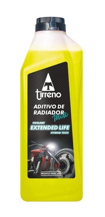 ADITIVO PARA RADIADOR TIRRENO COOLANT EXTENDED LIFE HÍBRIDO AMARELO 1L
