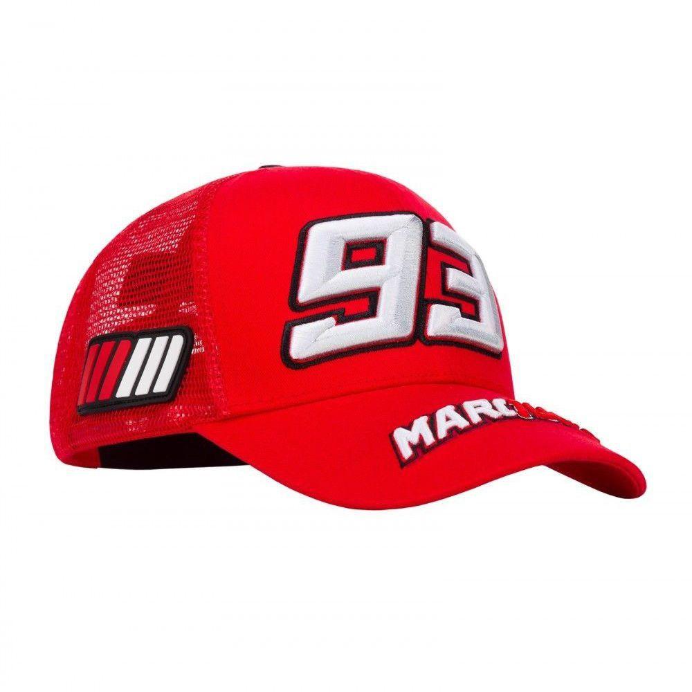 BONÉ MARC MARQUEZ 93 - VERMELHO