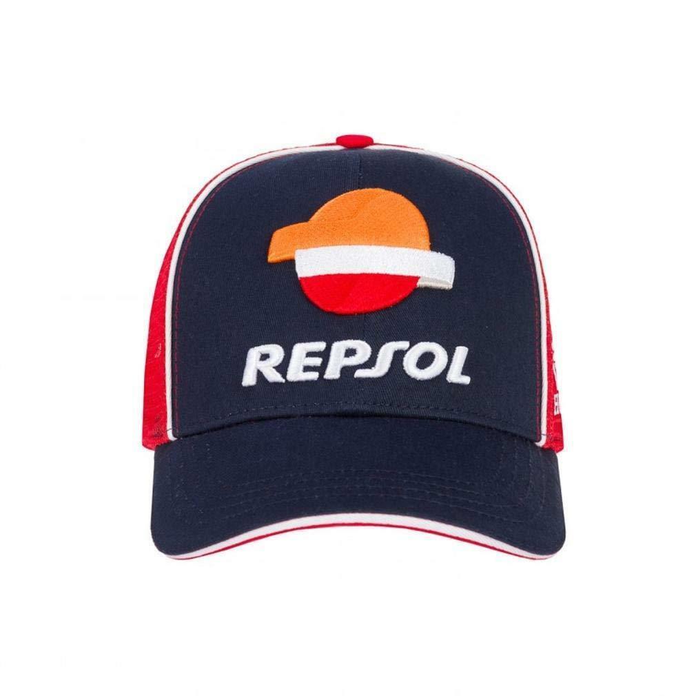 BONÉ REPSOL RACING HONDA  - AZUL (COM TELA)