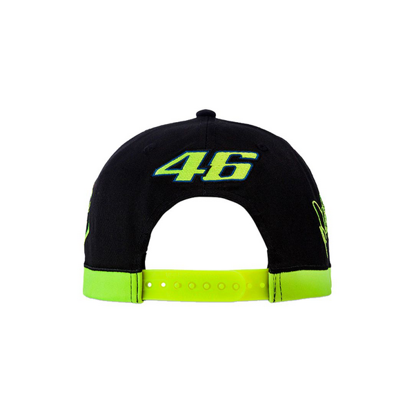 BONÉ VR46 THE DOCTOR VALEYELLOW46