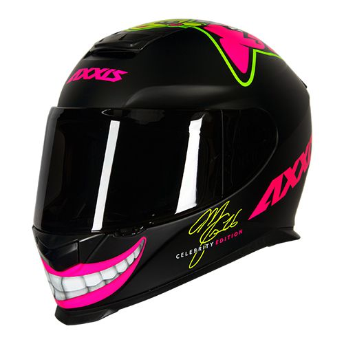 CAPACETE AXXIS EAGLE MG16 CELEBRITY EDITION BY MARIANNY PRETO FOSCO