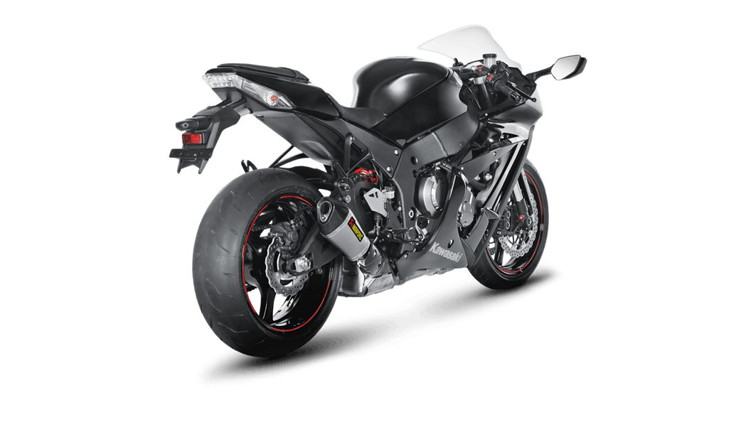 ESCAPAMENTO AKRAPOVIC SLIP-ON - KAWASAKI ZX-10R 2011-2015