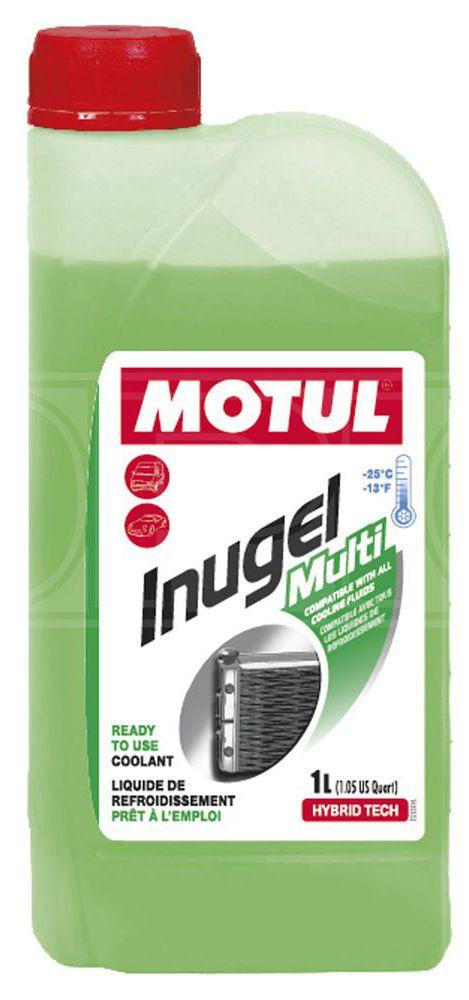 FLUIDO PARA RADIADOR MOTUL INUGEL MULTI 1L